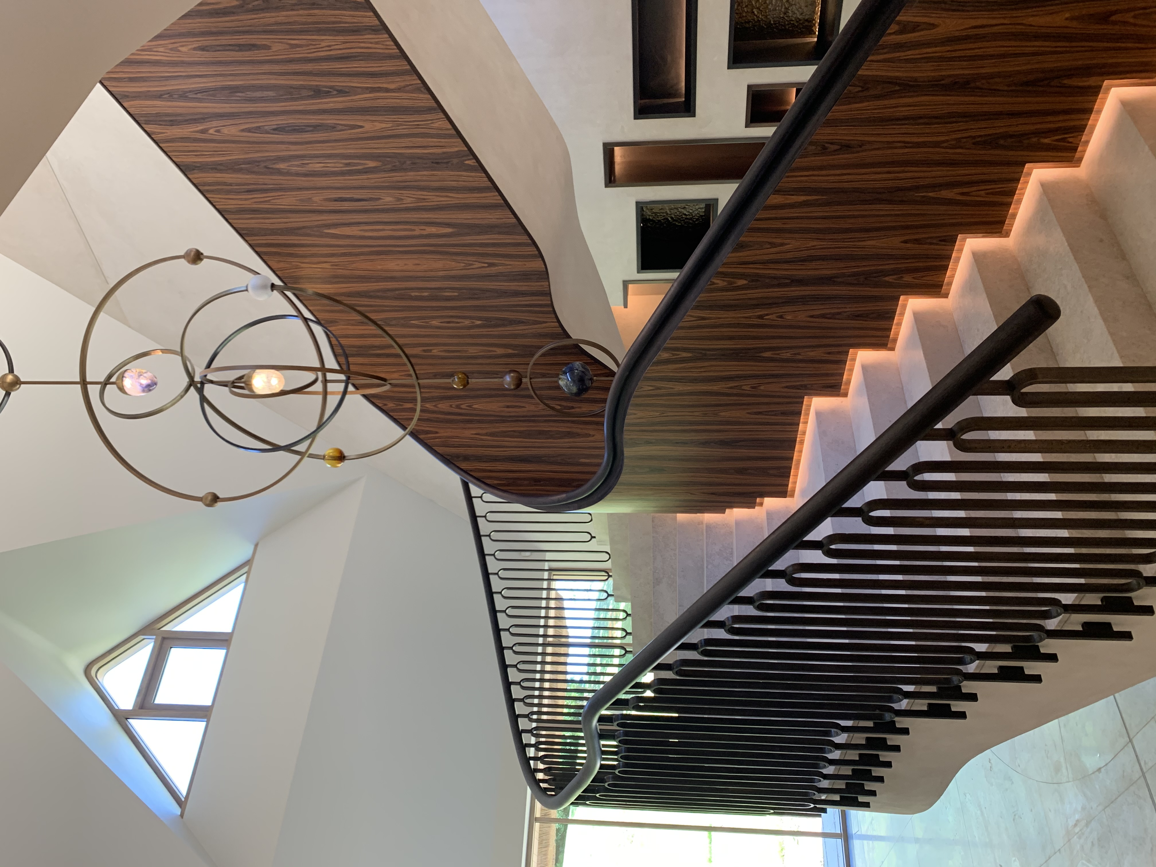 Glos Home Stair case lighting