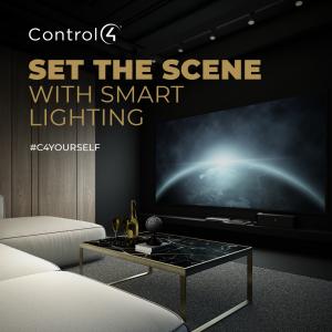 Set the scene with smart lighting