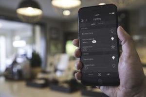 Lighting phone app